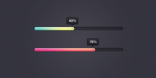 28_Eye Candy Percentage Bar PSD Freebie