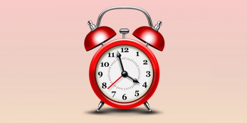 38_Alarm Clock Icon (PSD)