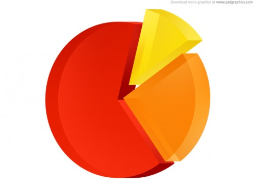 46_Pie Chart Icon (PSD)