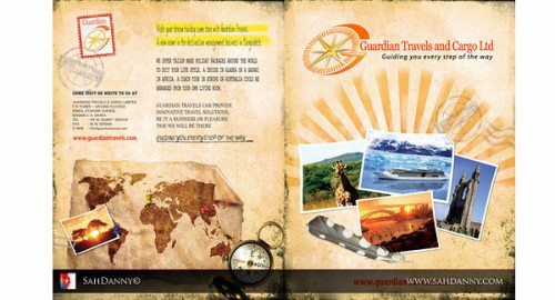 35 Inspirational Examples Of Travel Brochures – Tourism Brochure Template