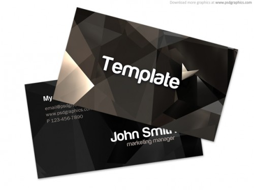 62_Stylish Business Card Template (PSD)