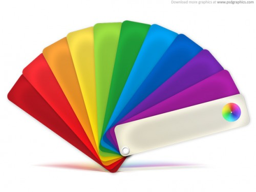 63_Color Palette Icon (PSD)