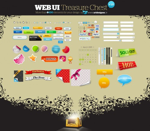 6_WEB UI Treasure Chest v 1.0
