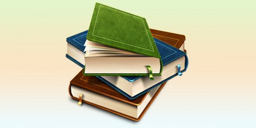 71_Books Icon (PSD)
