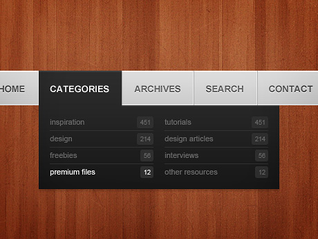 79_Simple Navigation Menu