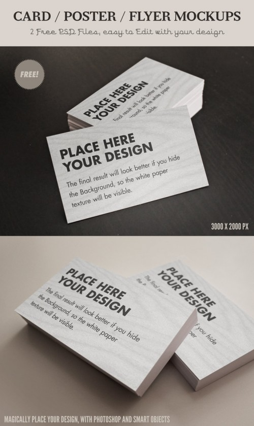 7_Free Card - Flyer Mock Ups
