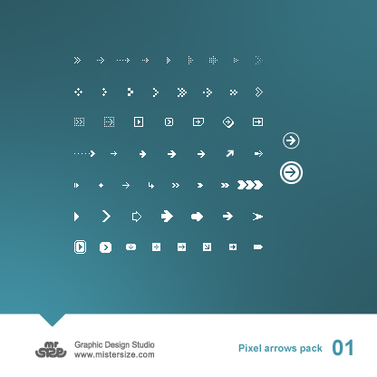 85_Pixel Arrows Pack 01