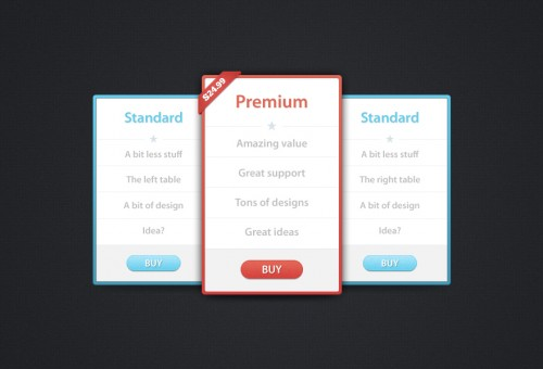90_Pricing Tables