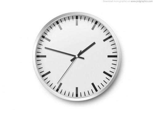 96_Wall Clock Template