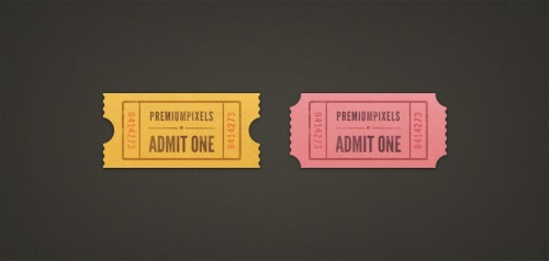97_Admit One Ticket Stubs (PSD)