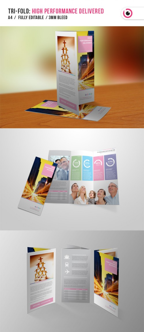 19_High Performance Tri-fold Brochure