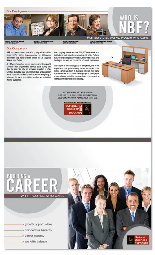 22_HR, Recruiting Tri-fold Brochure
