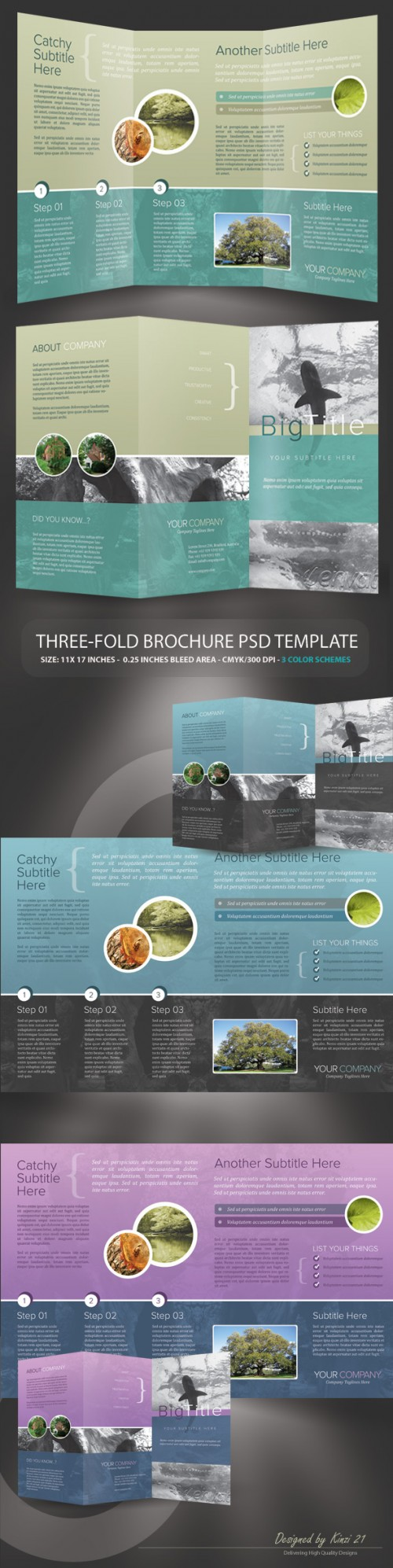 23_Corporate Trifold Brochure