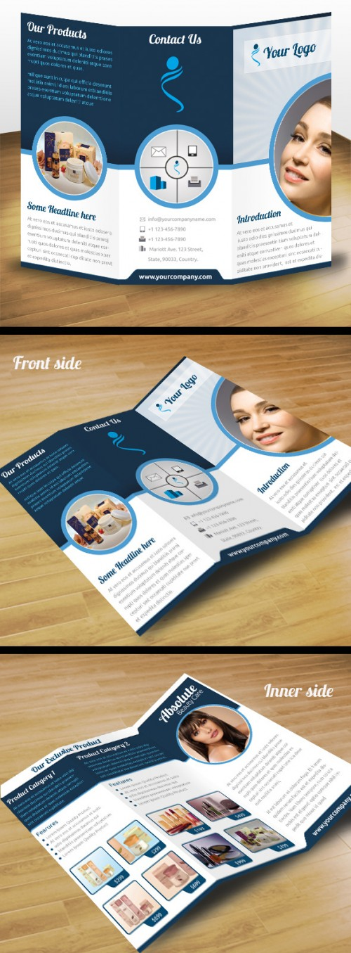 27_Business Product Tri Fold Brochure