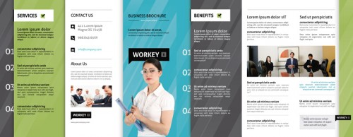 40 Tri Fold Brochure Design for Inspiration – Tri Fold Examples