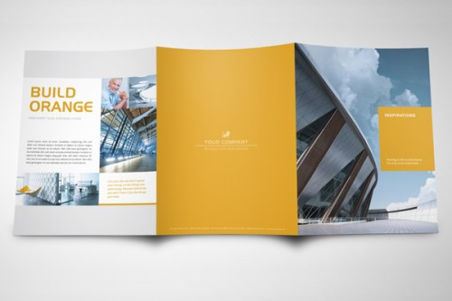 Exclusive Horizontal Brochure By The Mikinger Via Behance