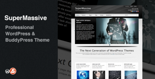 15_SuperMassive - Professional WordPress, BuddyPress Theme