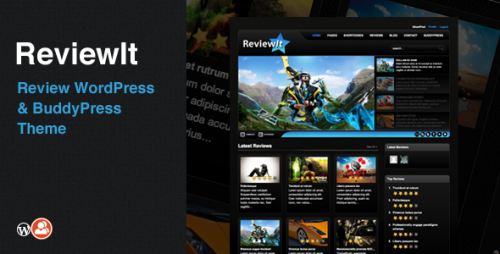 17_ReviewIt - Review WordPress & BuddyPress Theme