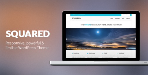 6_Squared - Responsive WordPress Theme