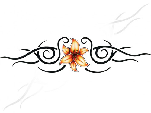 Tribal Passion Flower Band