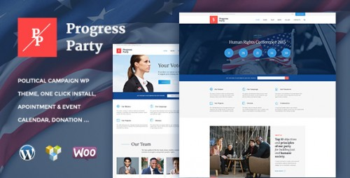 ProParty - Political WordPress Theme