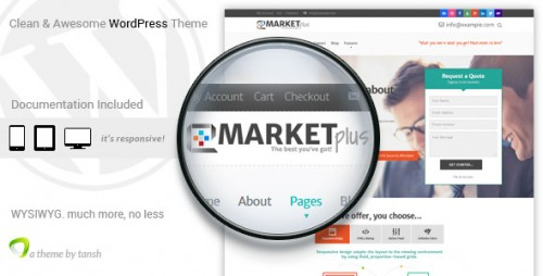 Marketplus Marketing Responsive WordPress Theme
