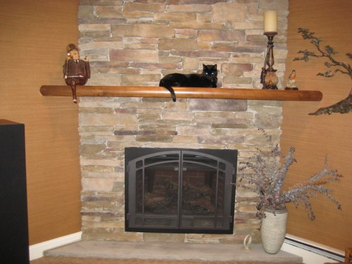 Inspire your own fireplace mantel shelf ideas with this photo gallery of gorgeous real wood and faux wood mantels