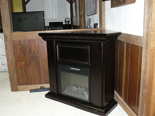 Fireplace 13 hastings espresso wall corner combo electric fireplace