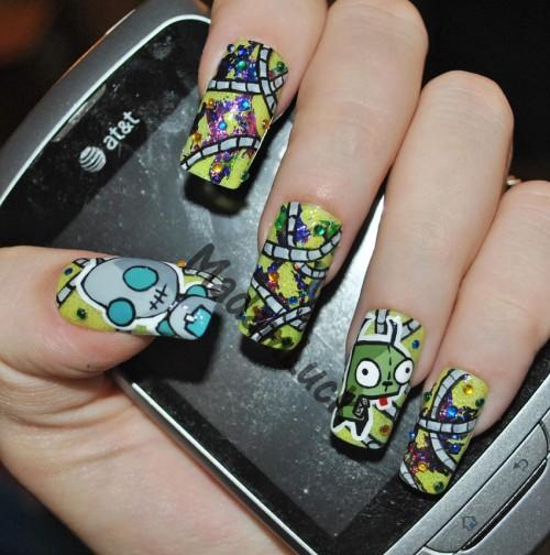 25 Fabulous Nail Art Designs Designcanyon