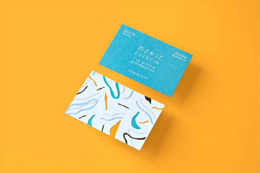20 Beautiful Letterpress Business Card Designs - DesignCanyon