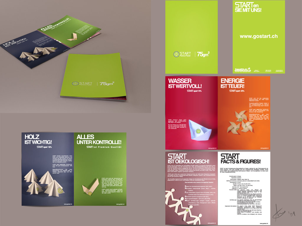 23 colorful brochure designs for inspiration