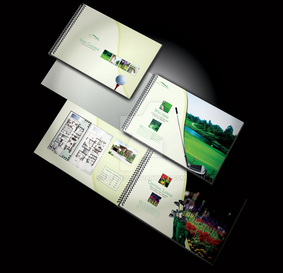 Subdivision Brochure Design Ideas