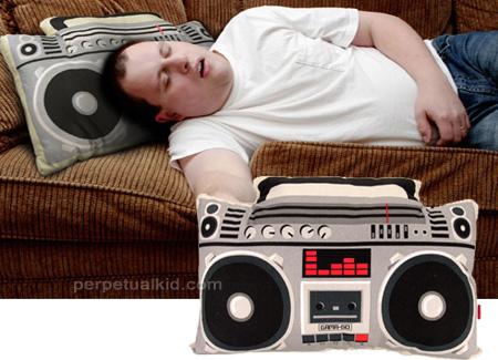 16_Boombox Pillow
