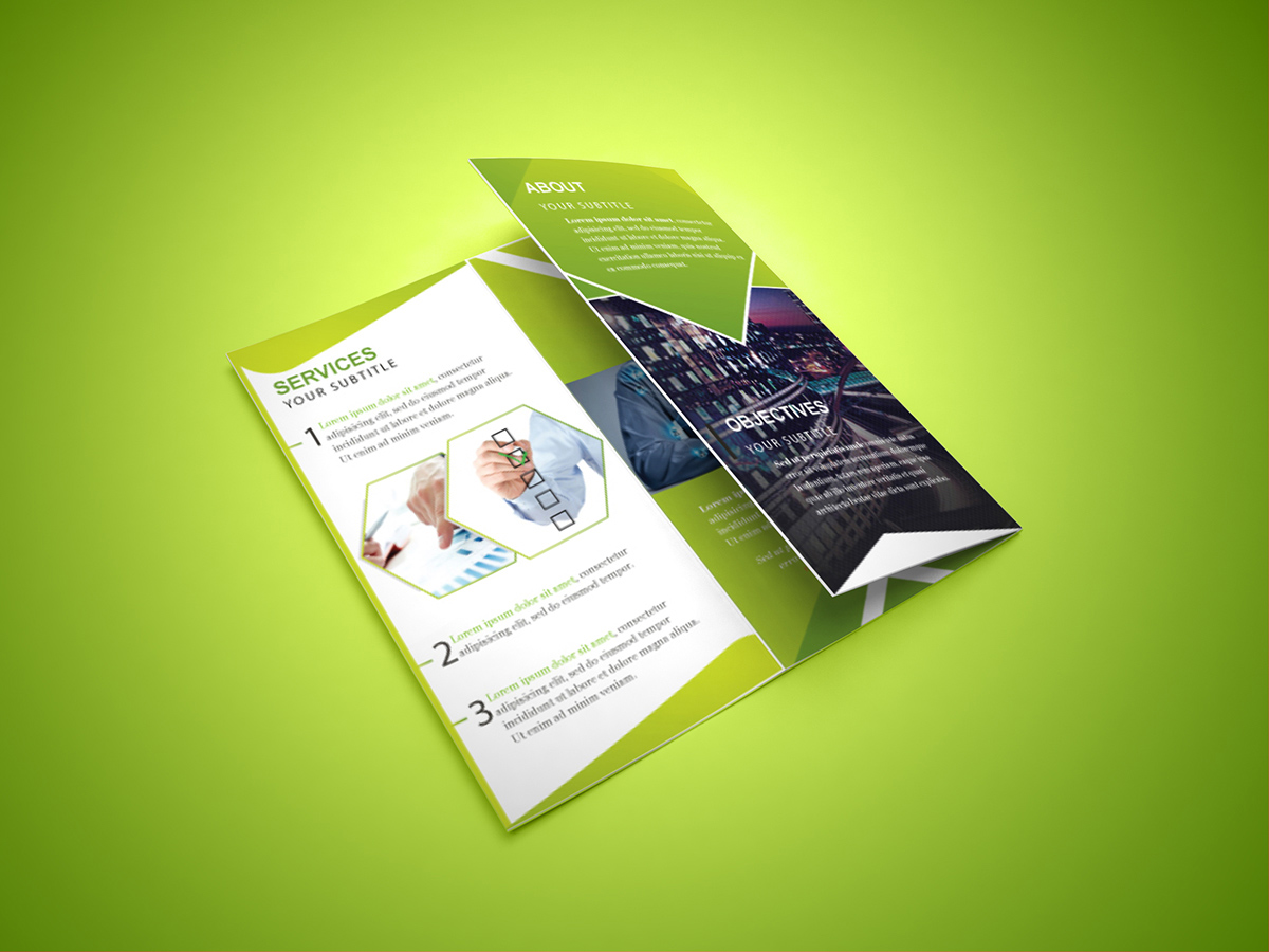 15 tri fold brochure designs for inspiration