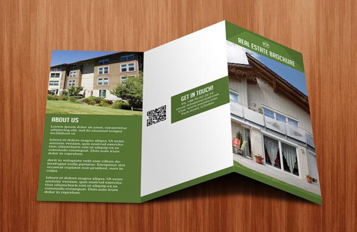 15 tri fold brochure designs for inspiration designcanyon for Real estate brochure design inspiration
