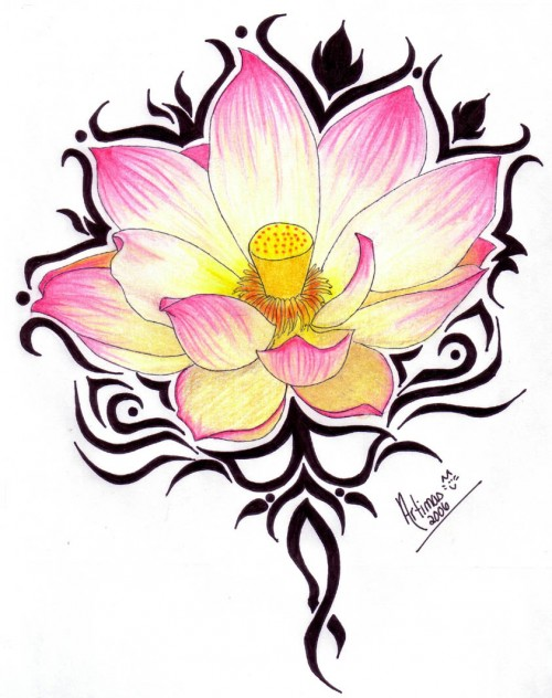 Lotus tattoo design contest