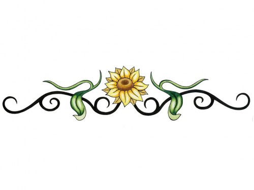 Tribal Sun Petal Band