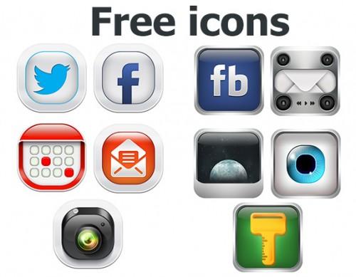 free smartphone icons
