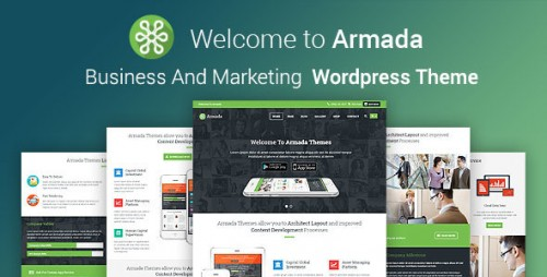 Armada - Marketing WordPress Theme