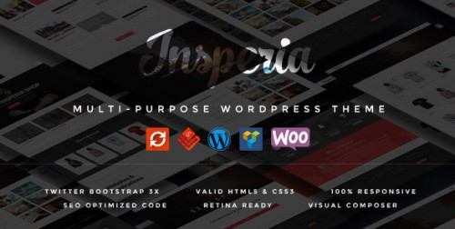 Insperia - Responsive WordPress Theme