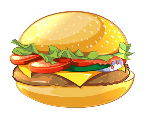 How to Create Cartoon Style Vector Burger