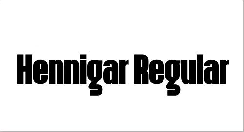 Hennigar Font