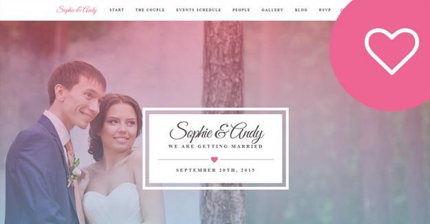 How to make a wedding website look more modern designcanyon junglespirit Images